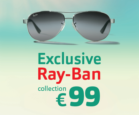 Pearle Opticiens - Exclusive Ray-Ban collection €99